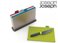 Joseph Joseph Schneidebretter + Kochmesser