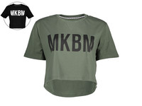 MKBM Essentials Crop T-shirt