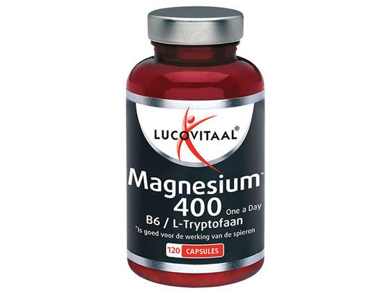 Korting Lucovitaal 400 mg Magnesium   120 Cap