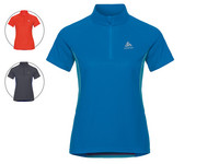 Odlo T-shirt Zip Chip | Dames