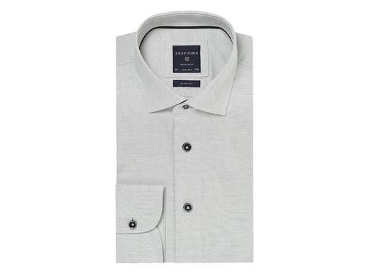 Maat 44 Overhemd.Profuomo Originale Overhemd Grey Melee Maat 44 Internet S Best