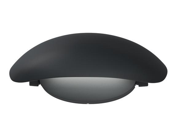 Korting Osram LED Muurlamp | 12 W | IP44 | Zwart