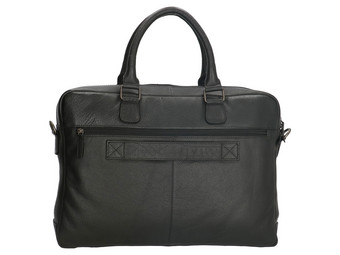 Old West Laptoptasche aus Leder | 15,6""