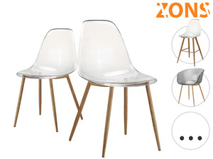 2x Zons Tracy Dining Chair