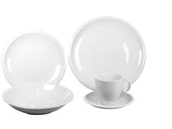 Servierset | 30-teilig | Pleasure White