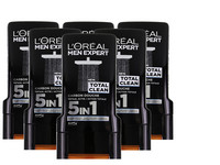 6x L'Oréal Total Clean Douchegel