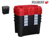 4x Allibert Totem 60 l Aufbewahrungsbox
