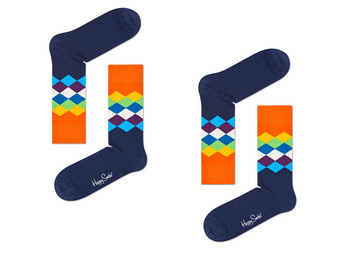 2x Happy Socks |  Diament 41-46