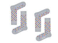 2x Happy Socks | Dot 41-46
