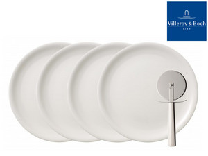 4 talerze do pizzy Villeroy & Boch Du
