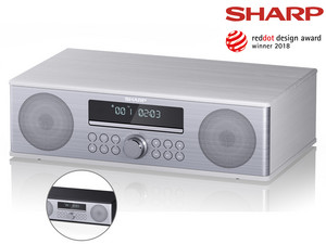 Sharp All-in-one DAB+ Sound System | XL-B715D