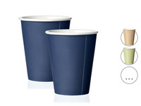 2x Viva Papercup Koffiebeker | 0,2 l