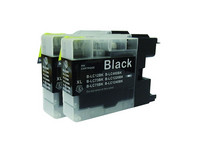 2x Cartridge LC-1240 | Black