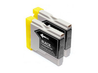 2x Cartridge LC-970/1000 | Black