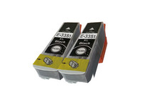 2x Cartridge voor Epson T3351 XL