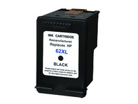 Cartridge voor HP 62 XL | Black