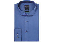 Profuomo Overhemd | Solid Blue