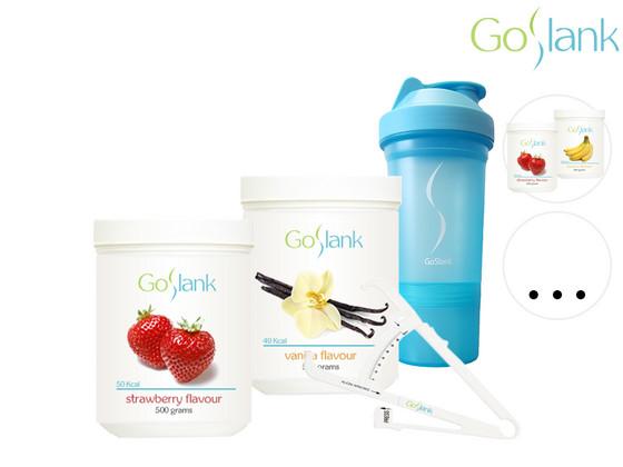 GoSlank Maandpakket | 2x 500 gram Shakes