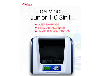 XYZPrinting Da Vinci Jr  3-in-1 3D Printer - Internet's Best