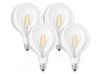 4x Osram GlowDim LED Lamp | 7 W | E27