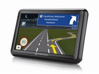5-Zoll-Navigationsgerät und Halterung