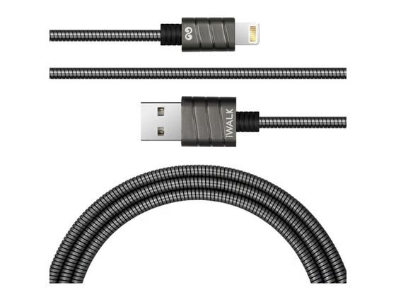 Korting 2x iWalk Lightningkabel | 2.4 A | MFI | 1,2 m