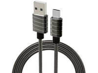 iWalk RVS Spring Wire USB-C | 1 M