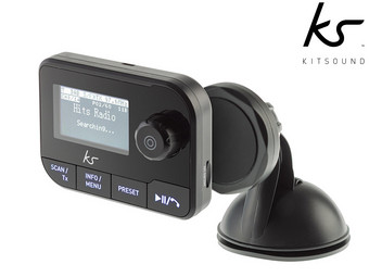 Kitsound DAB+ Auto-Adapter