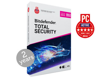 Bitdefender Total Security 2019 (2 Jaar)