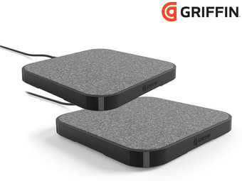 2x Griffin PowerBlock Wireless-Charging Pad