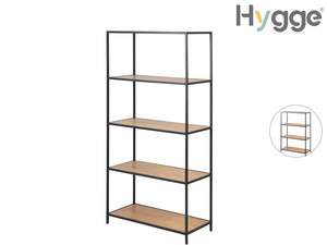 Hygge 5-stufiges Regal im Wildeichendesign