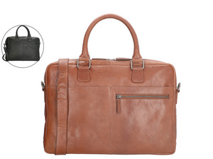 "Old West Laptoptasche aus Leder (15,6"")"