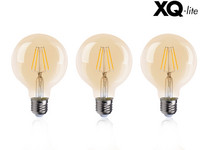 3x lampa LED Golden Globe E27 4W