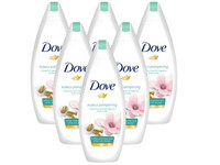 6x Dove Pampering Duschcreme | 400 ml