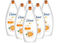 6x Dove Revitalize Duschcreme | 250 ml