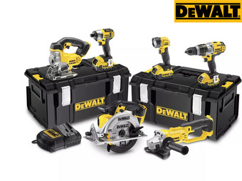 Dewalt 18 V Powertool Set