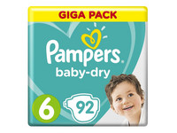 Pampers Baby Dry | Maat 6 | 92 st.