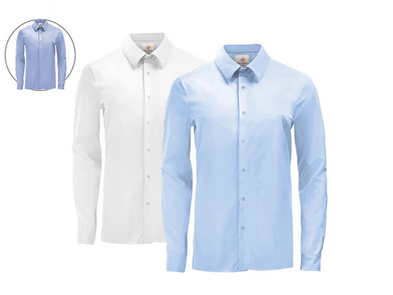 Korting 2x Pierre Calvini Overhemd