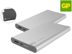 2x GP 5.000 mAh Powerbank