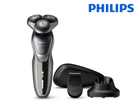 Philips Shaver Series 5000 Wet & Dry met Precisietrimmer - iBOOD.nl