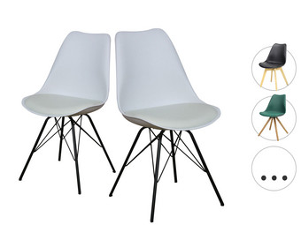 Scandinavisch Design Stoelen.2x Designstoel Woody Metly Of Brandy Internet S Best Online