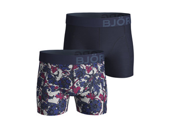 2x Boxershorts French Flower