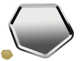 Alessi Hexagon-Tablett | 50 x 44 cm