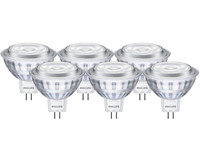 6x Philips LED | 50 W | GU 5.3