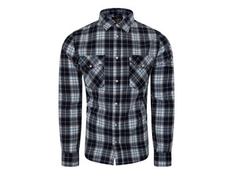 Lee Western Shirt Navy Drop | Heren