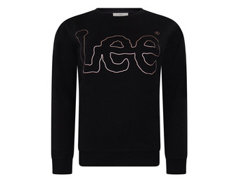 Lee Wobly Sweater Black | Dames