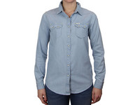 Lee Western Shirt Faded Blue | Dames