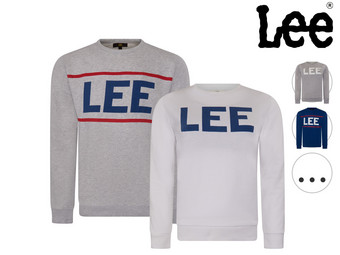 Lee Logo Crew Sweater