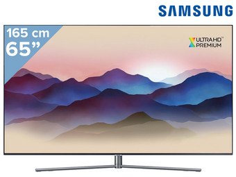 "Samsung 65"" 4K UHD QLED Smart TV"