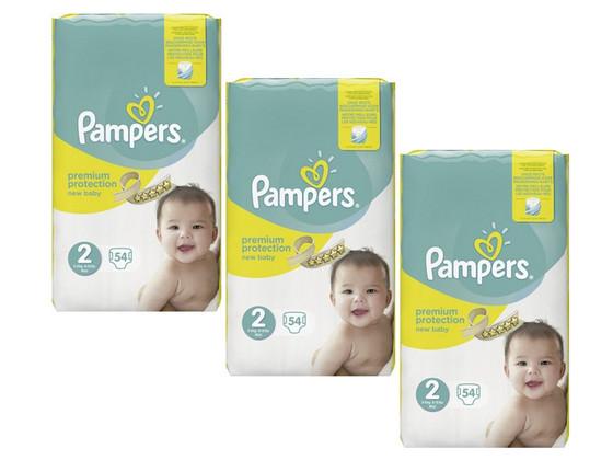 Pampers Premium | Maat 2 | 162 stuks